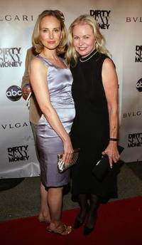 Chynna Phillips and her mother Michelle Phillips at the premiere of