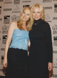 Chynna Phillips-Baldwin and mother Michelle Phillips at the 17th Annual Genesis Awards.