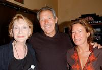 Sian Phillips, Israel Horovitz and Rachael Horovitz at the preview screening of