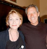 Sian Phillips and Israel Horovitz at the preview screening of