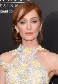 Lotte Verbeek at the New York premiere of
