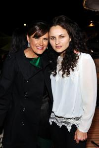 Jennifer Howell and Rain Phoenix at the 63rd Annual Cannes Film Festival.