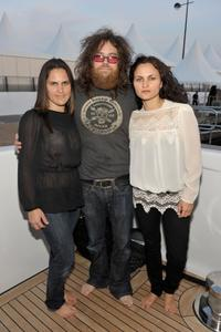 Liberty Phoenix, Kirk Hellie and Rain Phoenix at the 63rd Annual Cannes Film Festival.