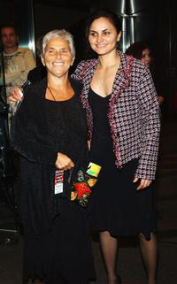 Rain Phoenix and Mother at the American Civil Liberties Unions Freedom Concert after party.