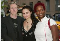 Director Jim McKay, Rain Phoenix and producer Effie T. Brown at the premiere of