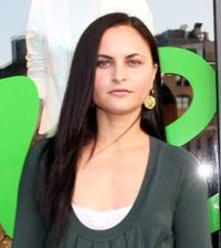 Rain Phoenix at the Theory's Going Green Event.
