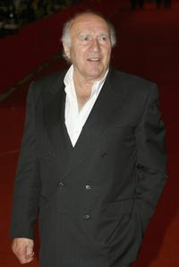 Michel Piccoli at the Rome Film Festival premiere of