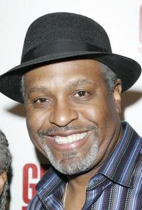 James Pickens, Jr. at the Grey's Anatomy Season One DVD Party.
