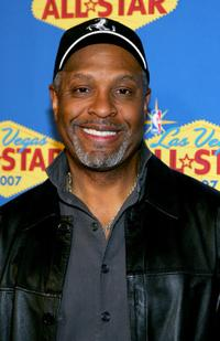 James Pickens, Jr. at the 2007 NBA All-Star Game.