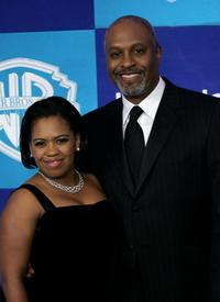 Chandra Wilson and James Pickens, Jr. at the Warner Bros./InStyle Golden Globe after party.