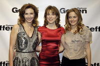 Mary Steenburgen, Rebecca Pidgeon and Alicia Silverstone at the Geffen Playhouse.