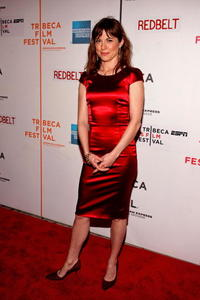 Rebecca Pidgeon at the premiere of