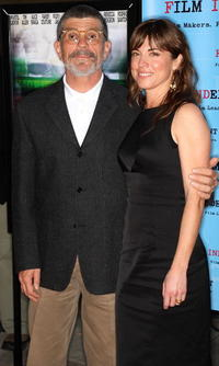 David Mamet and Rebecca Pidgeon at the screening of