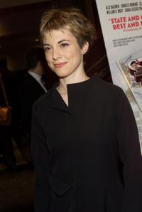 Rebecca Pidgeon at the benefit screening of