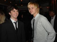 Charlie McDermott and Mark L. Young at the after party of the premiere of