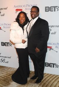 Sonja Sohn and Wendell Pierce at the BET Inauguration Ball.