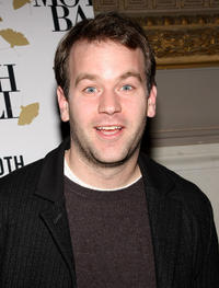 Mike Birbiglia at the 2008 Moth Ball Literary and Charity Event in New York.