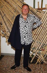Jean Pigozzi at the Hogan and Big Bambu Cocktail party during the 54th International Art Biennale.