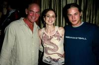 Mitch Pileggi, Sarah Wayne Callies and Travis Fimmel at the WB Television Network Upfront All-Star Party.