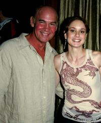 Mitch Pileggi and Sarah Wayne Callies at the WB Television Network Upfront All-Star Party.