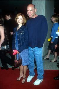 Mitch Pileggi and his wife at the Los Angeles premiere of