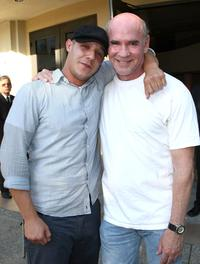 Theo Rossi and Mitch Pileggi at the premiere screening of