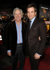 Robert Pine and Chris Pine at the California premiere of