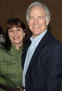 Gwynne Gilford and Robert Pine at the Hollywood Stars salute Glenn Ford's 90th birthday.