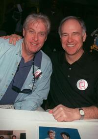 Paul Linke and Robert Pine at the Hollywood Collectors and Celebrity Show.