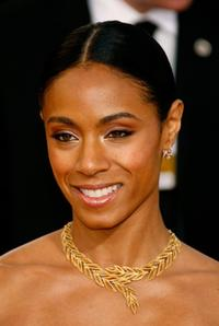 Jada Pinkett Smith at the 64th Annual Golden Globe Awards.