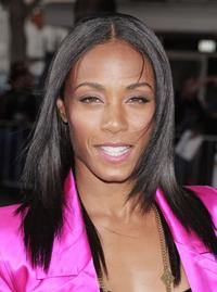 Jada Pinkett Smith at the premiere of
