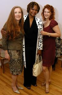 Randi Rahm, Tonya Pinkins and Kerry O'Malley at the Randi Rahm Debut Fall Collection.