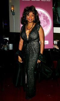 Tonya Pinkins at the after party of the play opening of