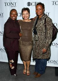 L. Scott Caldwell, Leilani Jones Wilmore and Tonya Pinkins at the Tonys Go Hollywood event.