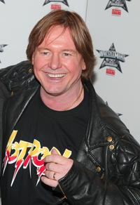 Roddy Piper at the Press Conference of WrestleMania 25th Anniversary.