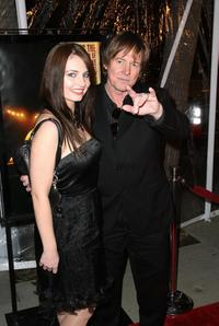 Roddy Piper and Guest at the premiere of