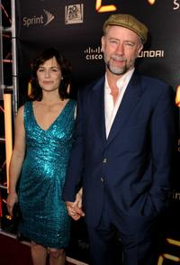 Sarah Clarke and Xander Berkeley at the Fox's
