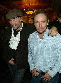 Xander Berkeley and Robert Knott at the Variety 10 Directors to Watch Party.