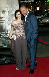 Sarah Clarke and Xander Berkeley at the premiere of