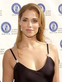 Elizabeth Berkley at the fifth annual Le Prix Cristal Film Star Awards.