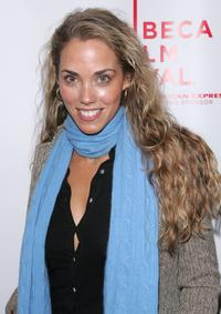 Elizabeth Berkley at the Tribeca Film Festival screening of