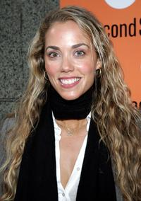 Elizabeth Berkley at the New York opening of