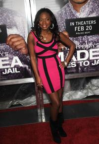 Naturi Naughton at the screening of Tyler Perry's