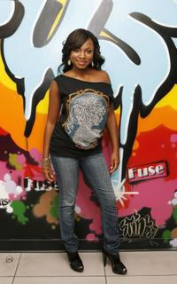 Naturi Naughton at the Hip Hop Show.