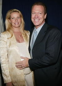 Joe Piscopo and wife Kimberly at the