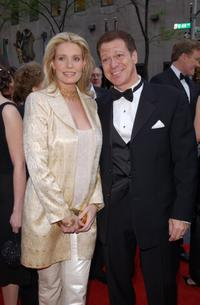 Joe Piscopo and wife Kimberly at the NBC 75th Anniversary celebration.