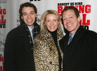 Joe Piscopo Jr., Kimberly and Joe Piscopo at the screening of
