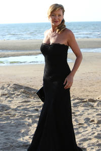 Julie Ferrier at the 24th edition of Cabourg Romantic Film Festival.