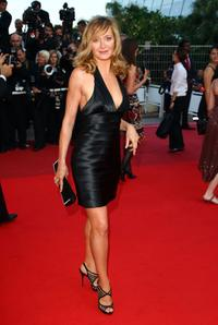 Julie Ferrier at the premiere of