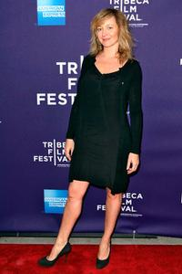 Julie Ferrier at the New York premiere of